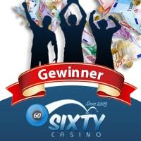Roxy Palace Casino Gewinner