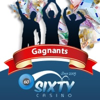 Roxy Palace Casino Gagnants