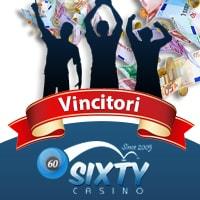 Roxy Palace Casino Vincitori