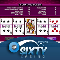 Video Poker Roxy Palace Casino